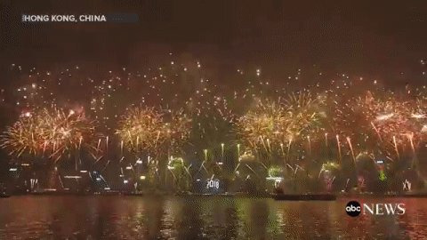 happy new year hong kong rings in 2018